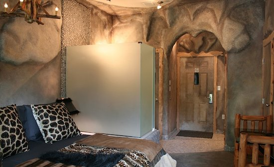 The Roxbury, Contemporary Catskill Lodging : Fred's Lair Studio Theme Room