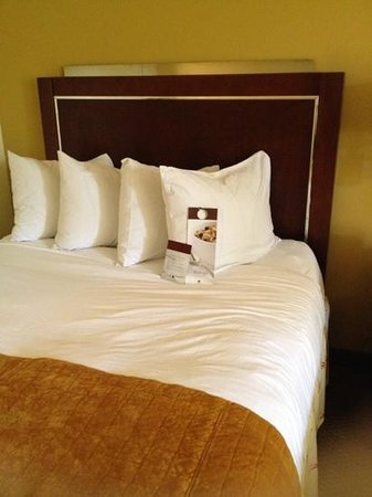 DoubleTree by Hilton Hotel and Executive Meeting Center Palm Beach Gardens: bed