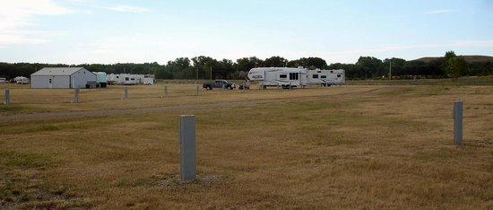 Iron Horse Campground: The Iron Horse bathhouse and laundry