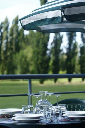 Domaine Du Green : vue du balcon