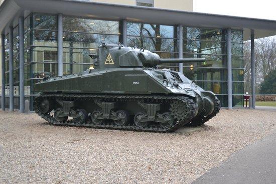 Airborne Museum Hartenstein: Tank