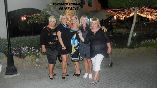 Verginia Sharm Resort: Hotel outside area