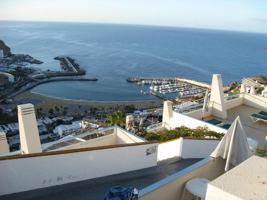 Hotel Riosol: Udsigten fra vores terrasse.