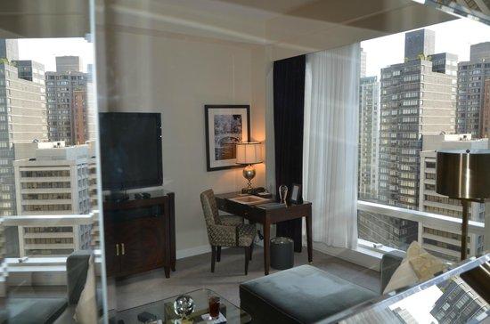 Trump International Hotel and Tower New York: een luxe kamer