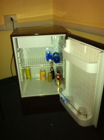 Giappone Inn Parking Hotel: mini fridge
