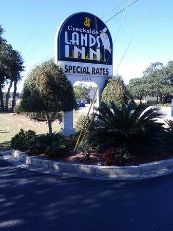 Creekside Lands Inn: Welcome!!