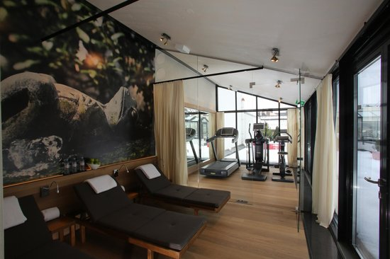 Hotel Muenchen Palace: Fitness area