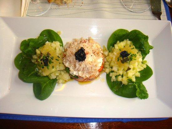 La Cambuse: Tartare de crabe