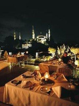Eresin Crown Hotel Sultanahmet : MOSAICTERRACE