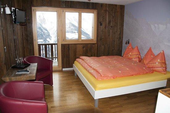 Hotel Slalom: 3Bett Zimmer