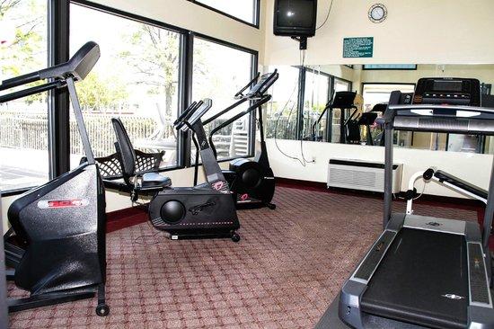 Comfort Inn Olde Town : Fitness Room