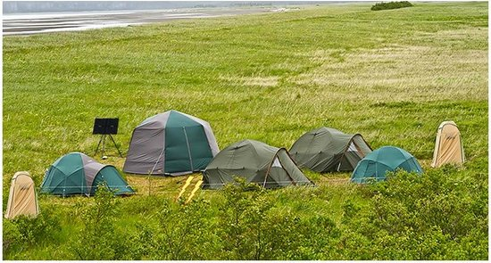 Katmai National Park and Preserve, AK: Bear Viewing Base Camp in Katmai National Park