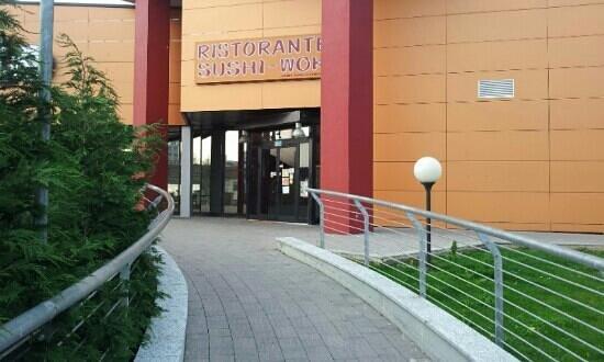 Cesano Maderno, Italia: ingresso principale