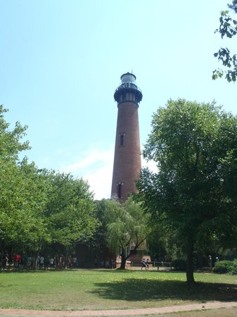 Currituck Beach Lighthouse Grounds View By Stormieiv
