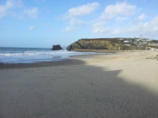 Aviary Court Hotel: Portreath beach -  20 mins walk from hotel