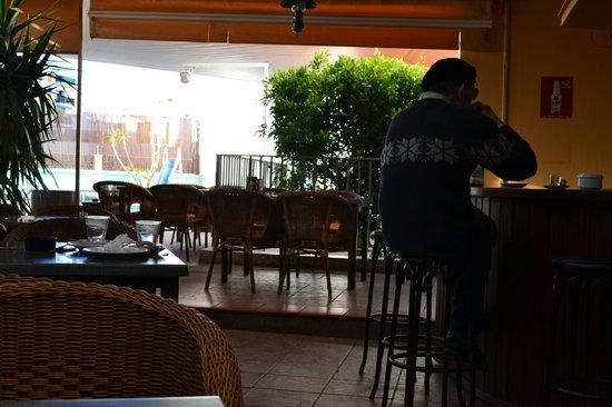 Hostal Marino: Terrace