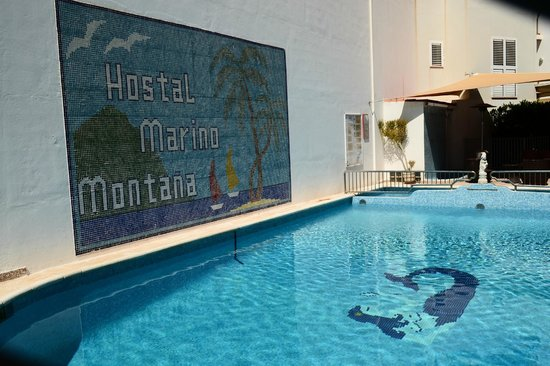 Hostal Marino: Pool