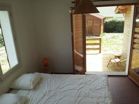 Villa Tiki / Vieux-Boucau Surflodge: Chambre double