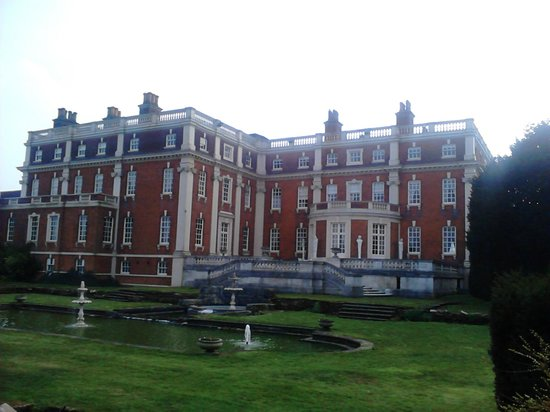Swinfen Hall Hotel: The rear of the hotel