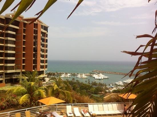 Venezuela Marriott Hotel Playa Grande: view from the terrace area