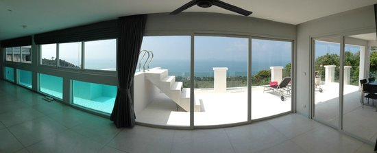 Infinity Residences & Resort Koh Samui: Entry view to the penthouse