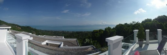 Infinity Residences & Resort Koh Samui: View from Penthouse balcony