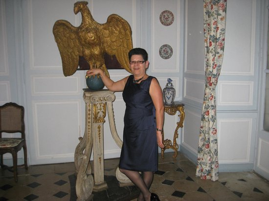 Chateau de la Barre : Me in the dinner room