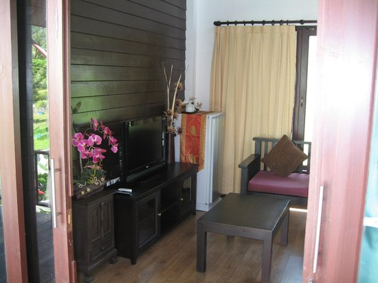 The Lamuna: View from balcony to living room