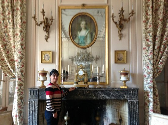 Chateau de la Barre : One the best sitting rooms