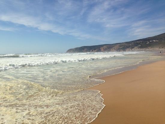 Guincho Beach: dia de sol na primavera