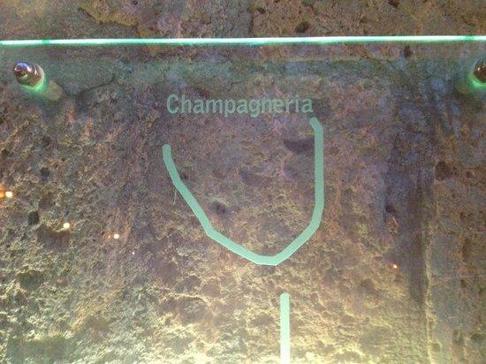 Champagneria Orvieto: Logo