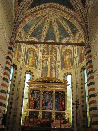 Basilica di San Zeno Maggiore: Above main altar.