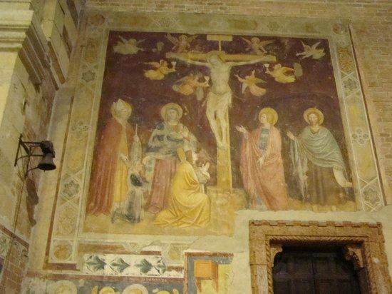 Basilica di San Zeno Maggiore: Fresco.