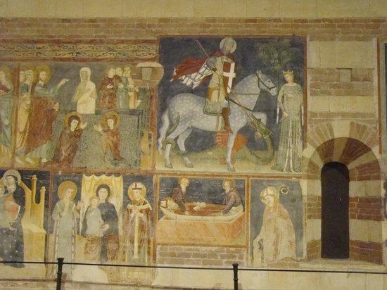 Basilica di San Zeno Maggiore: Frescoes.