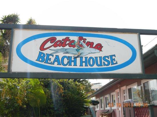 Catalina Boat House: Signage
