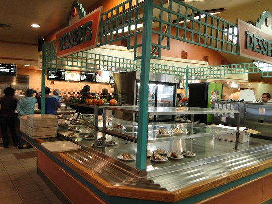 Yavapai Lodge Restaurant : Just a cafeteria - food is mediocre