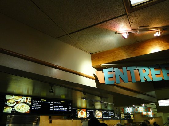 Yavapai Lodge Restaurant : Enough choices, higher prices