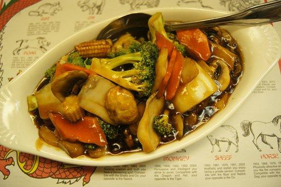 Mandarin Garden: Sauteed Mixed Vegetables
