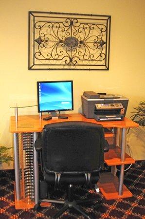 ويسبرينج هيلز إن: Guest Computer