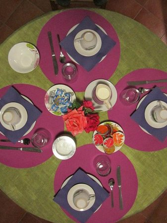 Il Casale dell'Ara delle Rose Bed & Breakfast: Breakfast