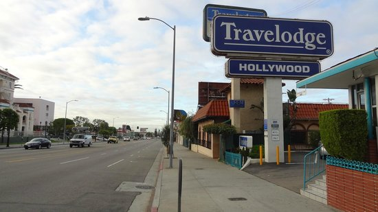 Travelodge by Wyndham Hollywood-Vermont/Sunset: côté rue