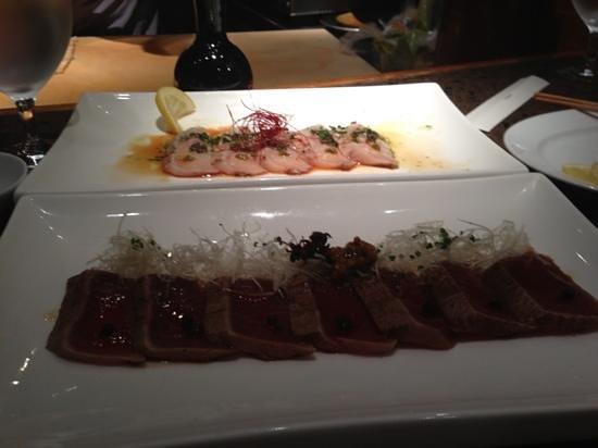 West Restaurant + Bar: tuna and halibut yummy