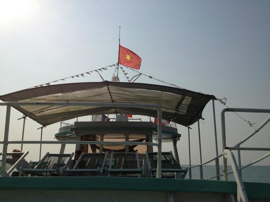 Rainbow Divers-Phu Quoc: The boat