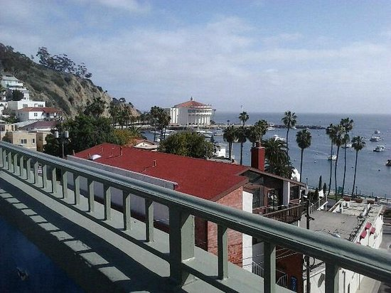 The Avalon Hotel: The Rooftop View