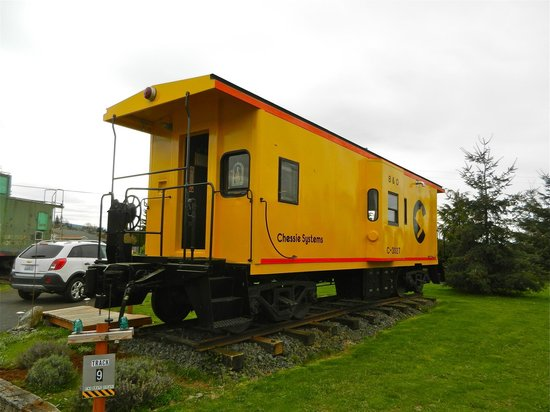 Red Caboose Getaway: Our caboose