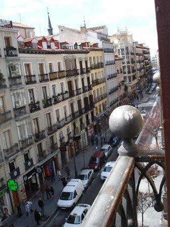 Hostal Patria: Vista desde el balcón (derecha)