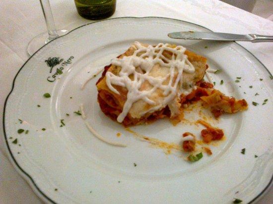 Cavolo Nero Bistrot : Lasagnette con salsiccia e finocchietto selvatico