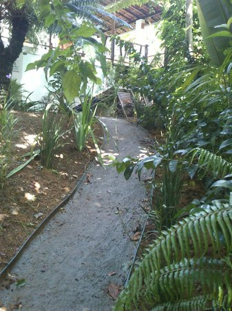 Casa Luzena Guest House: Rampa de acesso na entrada