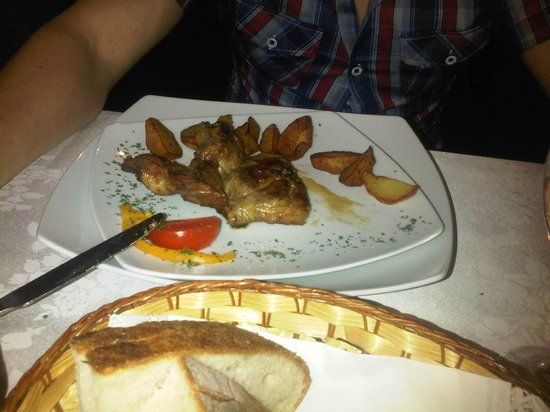 ‪‪The Rizzo Boutique Hotel & Spa‬: Food - pork with potatoes‬