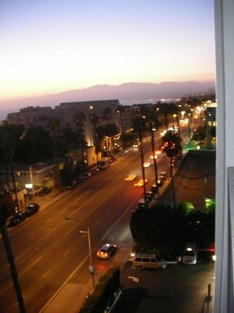 Viceroy Santa Monica: View from the room